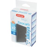 Cartouche charbon et Zéolithe pour filtre des aquariums Jalaya et First 60 cm (x2)