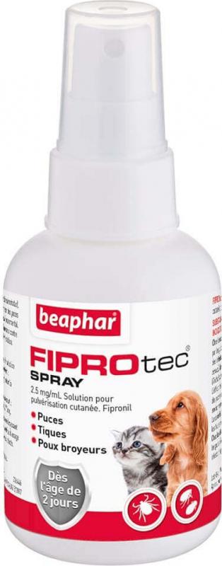 FIPROtec, spray antiparasitaire pour chien et chat