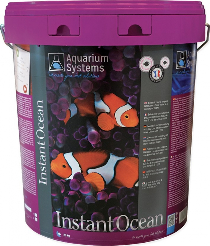 Sel Instant Océan pour aquarium marin