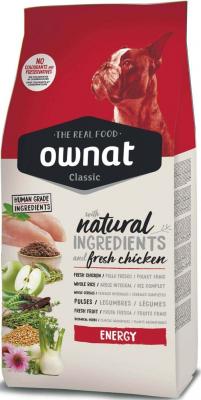OWNAT Classic Energy pour chien adulte actif au poulet