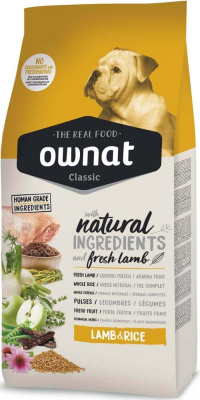 OWNAT Classic Lamb & Rice pienso para perro adulto cordero y arroz