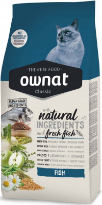 OWNAT Classic Fish pour chat adulte au poisson