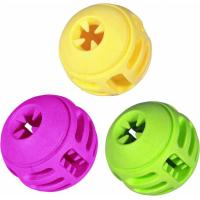 Jouet pour chien balle hyper résistante (TPR) - Plusieurs parfums