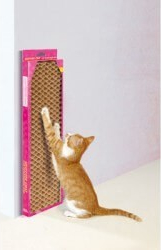 Honeycomb cardboard scratching post