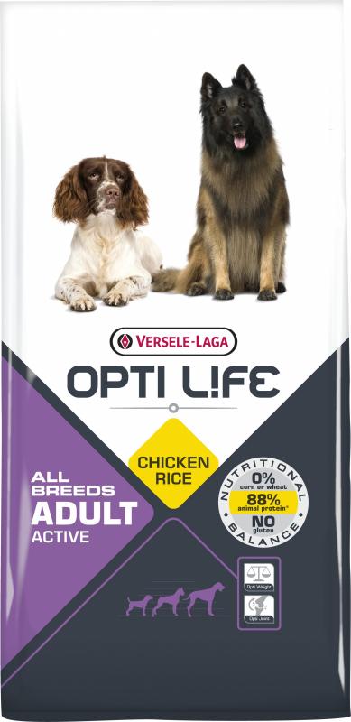 OPTI LIFE Adult Active pour chien