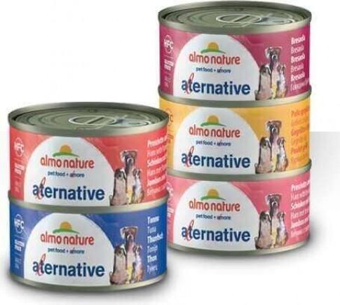 Pâtée Almo Nature HFC Alternative 70 pour chien adulte - 5 saveurs