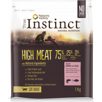 TRUE INSTINCT high meat au saumon et thon pour chat adulte sans céréales