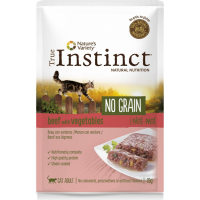 TRUE INSTINCT pâtée pour chat adulte en sachet sans céréales - 4 saveurs au choix