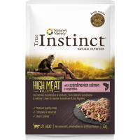 TRUE INSTINCT High Meat pâtée pour chat adulte en sachet sans céréales - 4 saveurs au choix