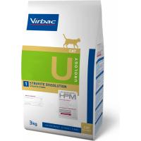 Virbac Veterinary HPM Urology 1 Struvite Dissolution pour chat adulte