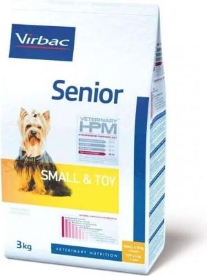 VIRBAC Veterinary HPM Small & Toy Senior pour chien senior de petite taille