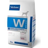 Virbac Veterinary HPM W1 - Weight Loss & Diabetes pour chien adulte en surpoids ou diabétique
