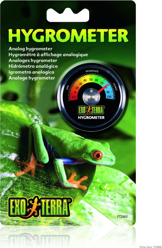 Hygromètre analogique pour terrarium Exo Terra
