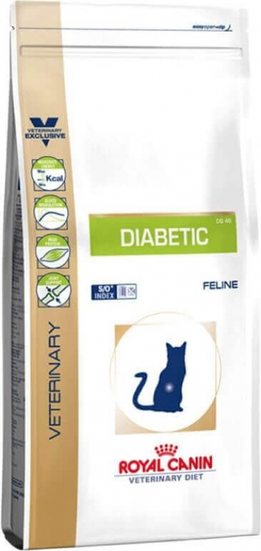 Royal Canin Veterinary Diet Feline Diabetic DS 46 pour chat