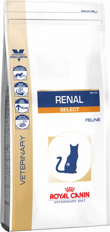 Royal Canin Veterinary Diet Feline Renal Select RSE24 pour chat