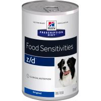 Pâtée HILL'S Prescription Diet Z/D Food Sensitivies pour chien adulte