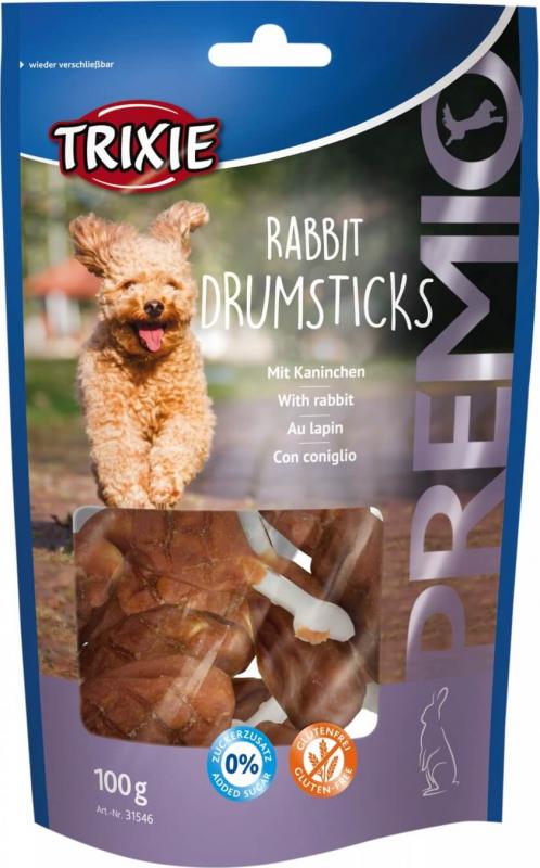 Friandises pour chien PREMIO Rabbit Drumsticks au lapin