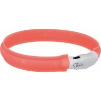 Collier Lumineux rechargeable TRIXIE USB Flash - 3 dimensions au choix