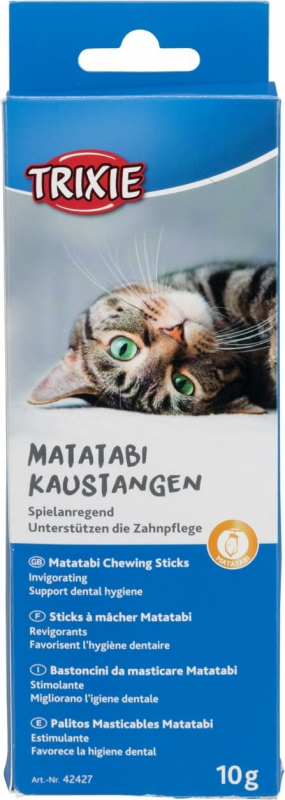 Sticks à mâcher pour chat TRIXIE Matatabi