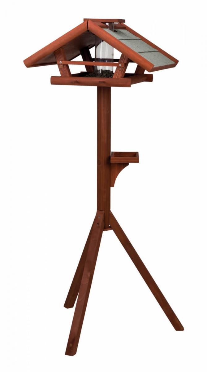 mangeoire pour oiseau trixie natura avec pied mangeoire. Black Bedroom Furniture Sets. Home Design Ideas