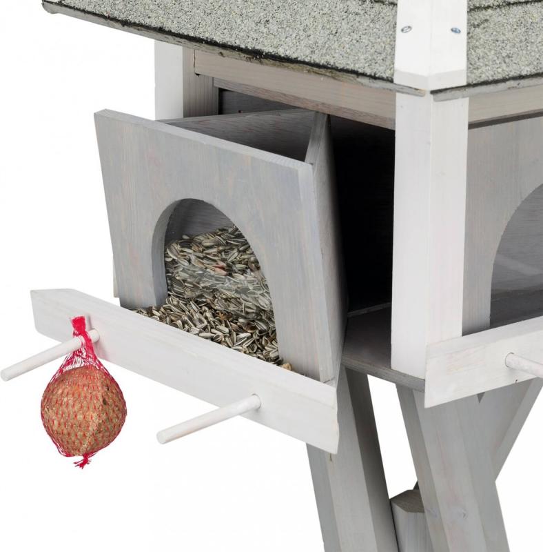 Mangeoire pour oiseau TRIXIE Natura avec pied