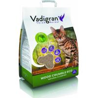Litière bois pour chat agglomérante et biodégradable Wood Crumble