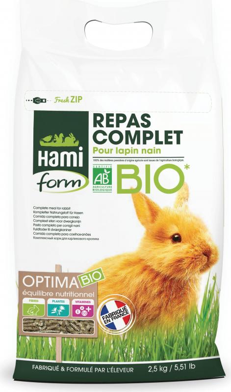 Hamiform Refeição completa bio coelho anão