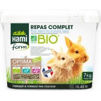 Hamiform Repas complet bio lapin toy