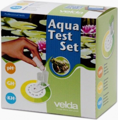 Kit de Test de agua Velda Aqua Test Set pH-GH-KH