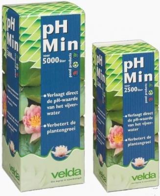 Acondicionador de agua Velda pH Min