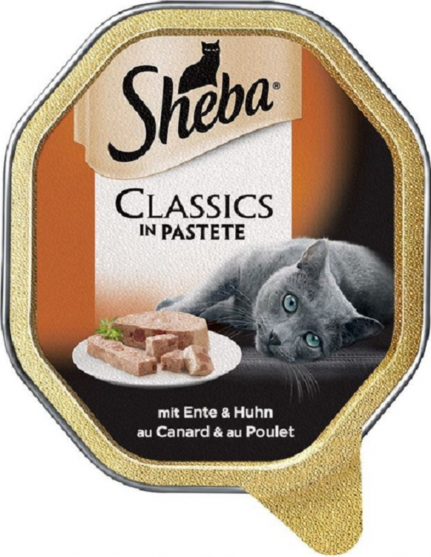 Sheba Classic pour chat adulte - 2 saveurs