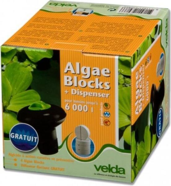 Diffuseur + Tablettes Anti-Algues Velda Algae Blocks