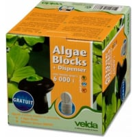 Difusor flotante + Tabletas Anti-Algas Velda Algae Blocks