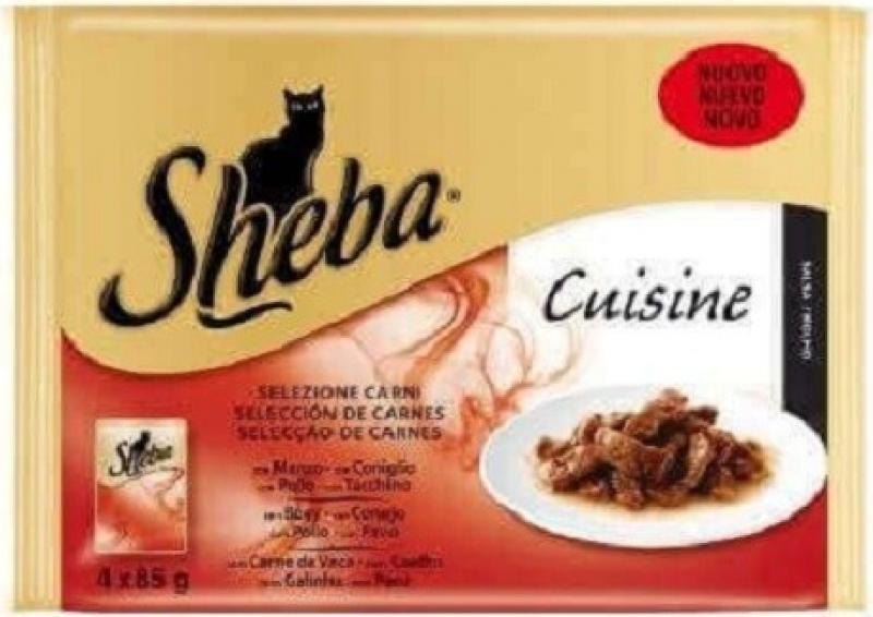 Sheba Sélection - plusieurs saveurs au choix