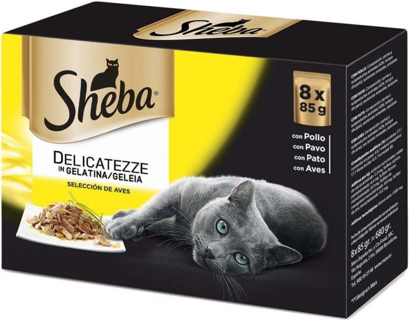 Pâtée Sheba Délicatesse - 2 saveurs au choix