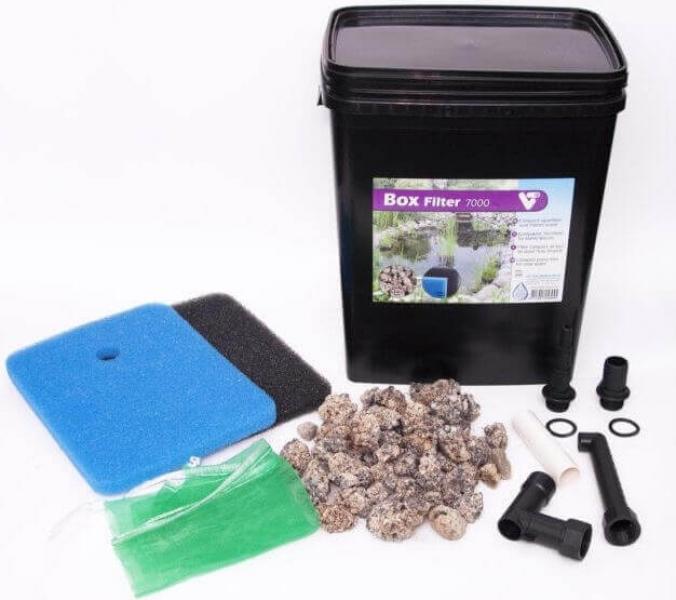 kit de filtration pour bassin vt filter box. Black Bedroom Furniture Sets. Home Design Ideas