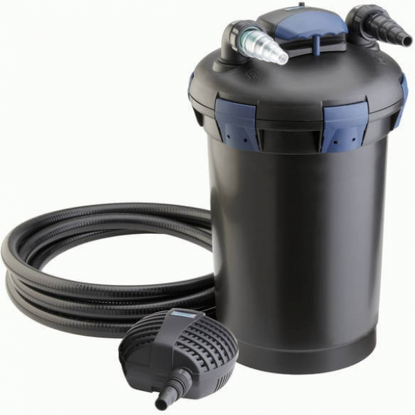 filtre pour bassin oase biopress set 10000 avec pompe et. Black Bedroom Furniture Sets. Home Design Ideas