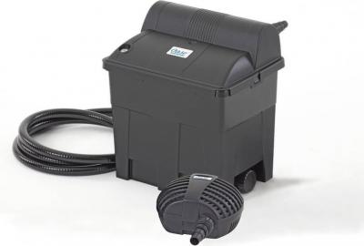 Filtro de Gravedad para Estanque OASE BioSmart Set 7000 con bomba y filtro UVC integrado