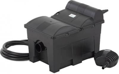 Filtro de Gravedad para Estanque Oase BioSmart Set 14000 con bomba y filtro UVC integrados