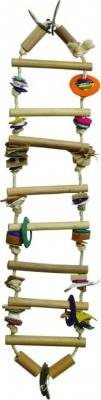 Juguete escalera de bambú