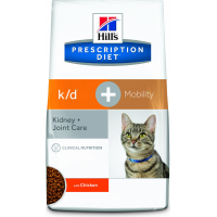 HILL'S Prescription Diet K/D + Mobility Kidney Care pour chat adulte