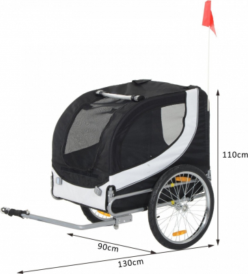 Remolque de bicicleta para perro Zolia Peny