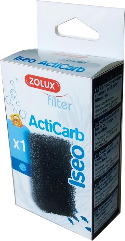Mousse charbon pour filtre des aquariums ISEO