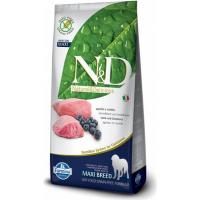 FARMINA N&D Grain Free Agneau & Myrtilles pour chien adulte de grande taille