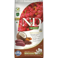 FARMINA N&D SKIN&COAT Cervo & Noce di Cocco per Cani Adulti