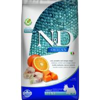 FARMINA N&D Ocean Potiron Morue & Orange pour chien adulte de petite taille