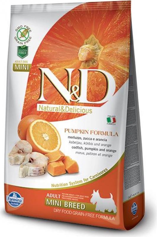 FARMINA N&D Pumpkin Potiron Poisson & Orange pour chien adulte de moyenne et grande taille