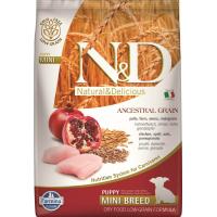 FARMINA N&D Low Grain CHIOT Poulet & Grenade pour chiot de petite taille
