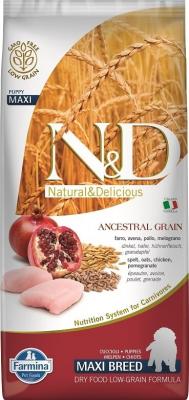 FARMINA N&D Low Grain CHIOT Poulet & Grenade pour chiot de grande taille