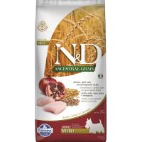 FARMINA N&D Ancestral Grain Poulet & Grenade pour chien adulte de petite taille